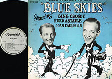 Bing Crosby FRED ASTAIRE Joan Caulfield BLUE SKIES Soundtrack LP Sunbeam 1976 US