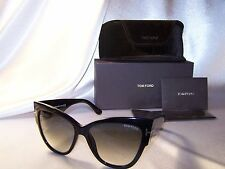 1 Day sale!!! Authentic Tom Ford Anoushka TF 371 01B  Cat Eye  Sunglasses