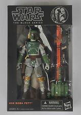 """New Star wars the Black Series 6"""" Action Figure Boba Fett Gift (new in box)"""