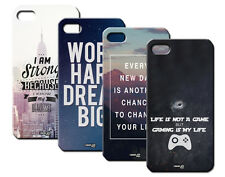 IPM CUSTODIA COVER CASE FRASI CITY HIPSTER GAMER PER iPHONE 4 S 4S