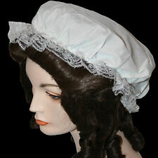 Colonial Mob Cap one size historical style maid hat costume reenactment prop TV