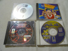 PANASONIC 3DO GAME LOT SPACE ACE SAMURAI SHODOWN CLUB STATION INVASION MICROCOSM
