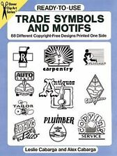 Ready-to-Use Trade Symbols and Motifs: 88 Different Copyright-Free Designs Print