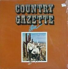 COUNTRY GAZETTE - LIVE - ANTILLES LB - 1976 LP - SHRINK