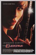 JENNIFER GARNER Elektra movie PRINT AD sai film advertisement sexy red lips 2005
