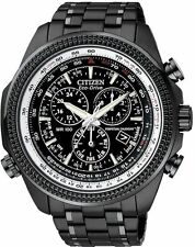 Citizen BL5405-59E Mens Eco-Drive Perpetual Calendar Alarm Chronograph Watch