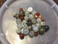 Vintage Destash Mixed Shape Agate Plus Multi Gemstone Bead Lot