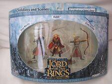 LOTR eserciti di terra di mezzo degli Elfi Guerrieri della Helms Deep Cinque Eserciti