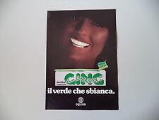 advertising Pubblicità 1977 DENTIFRICIO GING SQUIBB