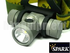 Spark ST6-500CW ST6-500 CW Cree XP-L 18650 LED Headlight Headlamp Tasklight