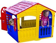 Playhouse for Kids Play House for Children Outdoor Fun Toddlers Doors Windows