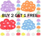 10 Latex PLAIN BALOONS BALLONS helium BALLOONS Quality Party Birthday Wedding*