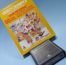 VINTAGE 1978 ATARI 2600 VIDEO OLYMPICS GAME CARTRIDGE in Box