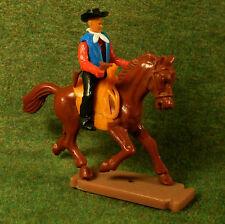 Plasty/Airfix Steckfigur Cowboy-Reiter mit Revolver