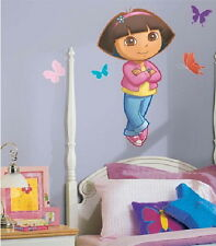 Dora the Explorer Figure Giant Peel and Stick Wall Sticker Decal NEW SEALED