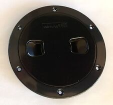 DECK HATCH 100mm SCREW TYPE BLACK BOAT RIB YACHT DIY