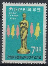 Korea-Süd 1968 ** Mi.636 Schulbildung School Education Frauen Women [st0815]