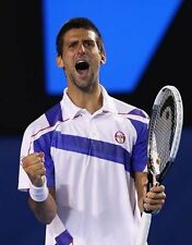 NOVAK DJOKOVIC UNSIGNED PHOTO - 7536 - SERBIAN PROFESSIONAL TENNIS PLAYER