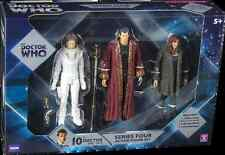 10th Doctor Who Series 4 Action Figure Set River Song, Donna Noble, The Narrator