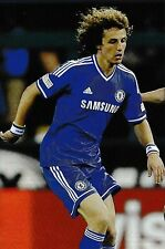Football Photo DAVID LUIZ Chelsea 2013-14