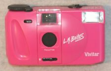 VIVITAR 35mm CAMERA LA BRITES Bright Pink BRAND NEW **FREE SHIPPING!!!**