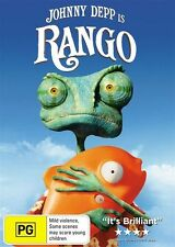 RANGO Johnny Depp DVD  R4