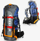 65L Waterproof Outdoor Sports Backpack Travel Climbing Bag Internal Frame Pack