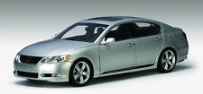 2006 LEXUS GS430 SEDAN LEFT HAND DRIVE SILVER 1:18 AUTOart 78801 NEW LOWER PRICE
