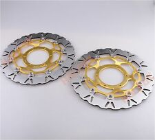 Gold Front Brake Disc Rotor for Honda CBR600RR 2003-2012 CBR1000RR 2004-2005
