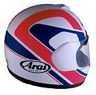 Arai Quantum Chandler #5 Pink White Blue motorcycle helmet Md Lg XL New in box