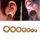 Hand Carved Organic Bamboo Wood Ear Tunnels Gauges-Ear Expander Piercing SE