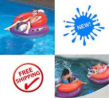 Spaceship Squirter Jat Ski Pool Fun Float Shooting Water Ray Gun Kids Toys NEW