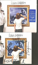 "LUKAS GRAHAM ""Lukas Graham"" CD foldout Cardsleeve signed sealed"