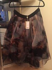 Ted Baker London • Langley Skirt • Print • Layered Petticoat • New • Size 3