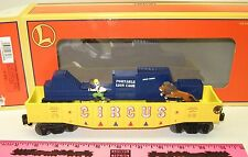 "New Lionel 6-26723 Lion Chasing Trainer Gondola ""3444"""