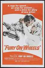 Fury On Wheels Poster 01 A2 Box Canvas Print