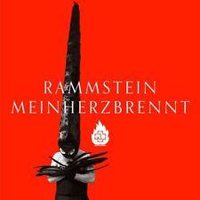 """RAMMSTEIN Mein Herz Brennt * Gib Mir Deine Augen * 7"""" Vinyl Single 2012 * NEW"""