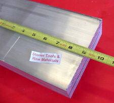 "2"" X 6"" ALUMINUM 6061 FLAT BAR 9"" long SOLID T6511 2.000"" Plate Mill Stock"
