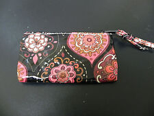 Women's Floral Colorful Zip Coin Pouch