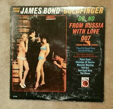 MUSIC FROM JAMES BOND GOLDFINGER DR NO FROM RUSSIA - 1965 Mono Press~