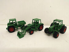 Job Lot De MARKLIN FENDT TRACTEUR'S x 3 loose (bs1034)