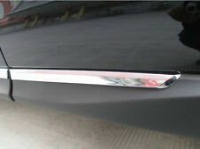 Chrome Side Body Molding Cover trim for Subaru Forester 2014-2016 Door Sill