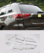 Chrome Tail Rear Light Lamp Cover Trim for 2016 Mitsubishi Outlander new