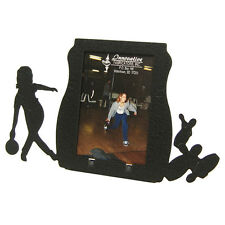 Female Bowling 2x3 Black Metal Picture Frame