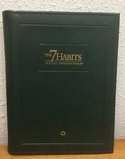 FRANKLIN COVEY - The 7 Habits Highly Effective People 2.0 Green Leather Planner