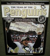 BOOK THE YEAR OF THE PITTSBURGH PENGUINS NHL HOCKEY
