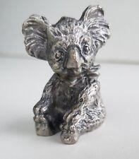 Pewter Koala Figurine