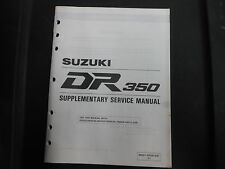 OEM Suzuki 1994 DR350 DR 350 Service Manual Supplement 99501-43020-03E
