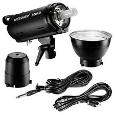 Neewer 600AD strobe Dual Power AC/DC 110v Monolight Flash w/ Battery Pack Bowens