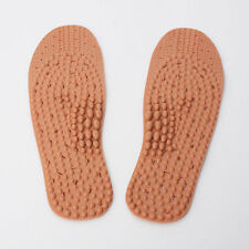 Acupressure Acupuncture Shoes Insoles Blood Circulation Foot Massage Red Clay